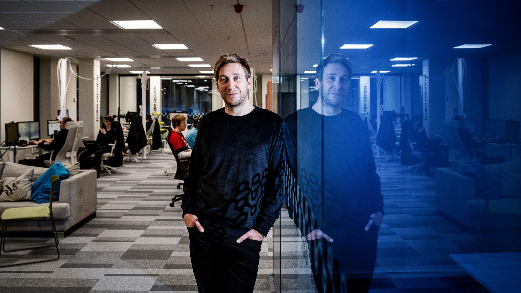 Mattias Bergqvist, studiochef på Wanderword.