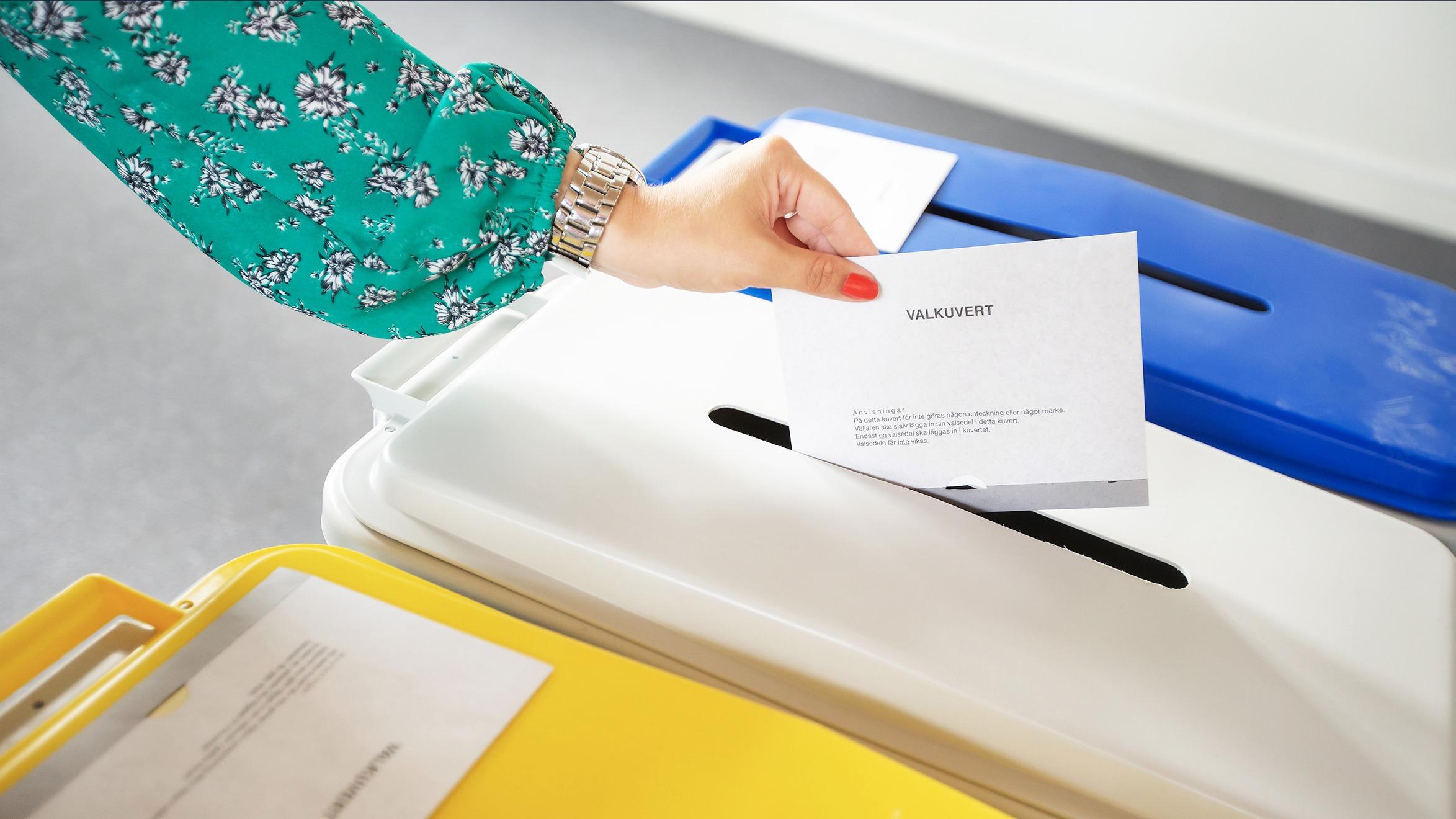 Rösträkningen till kommunfullmäktige färdig