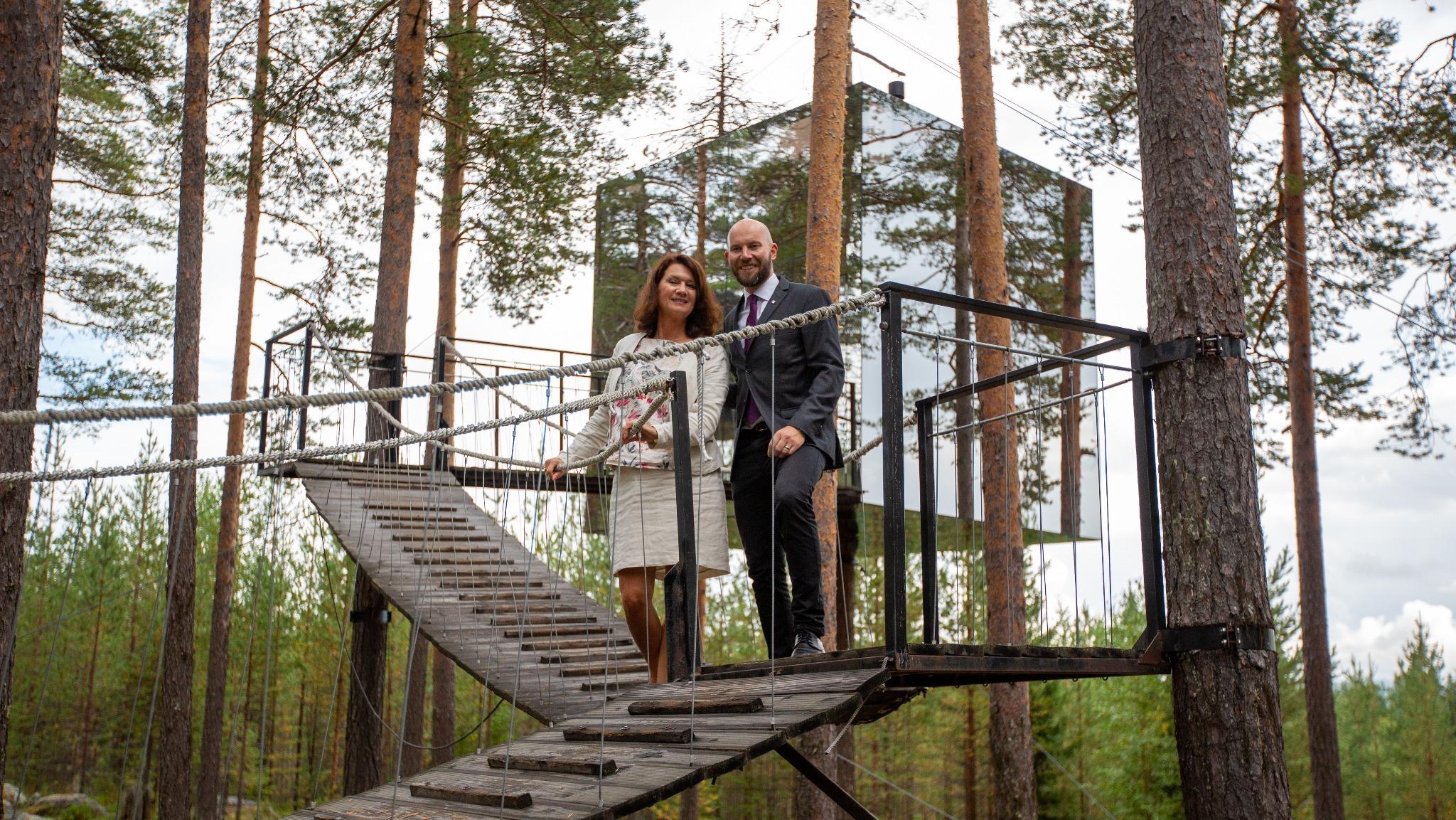 Harads och Lule Älvdal ska bli världens mest hållbara high-end destination