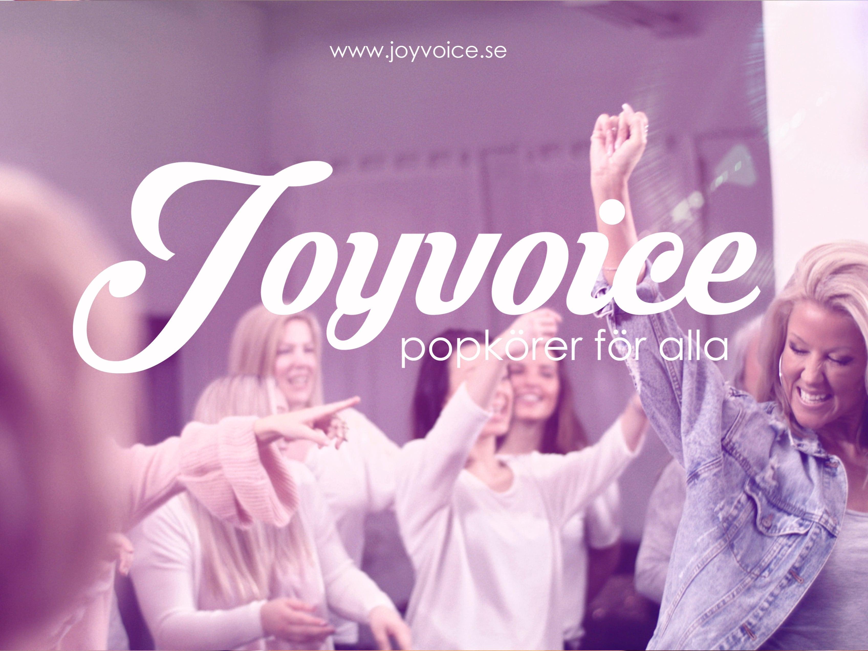 Joyvoice - Popkörer för alla - evenemangsbild