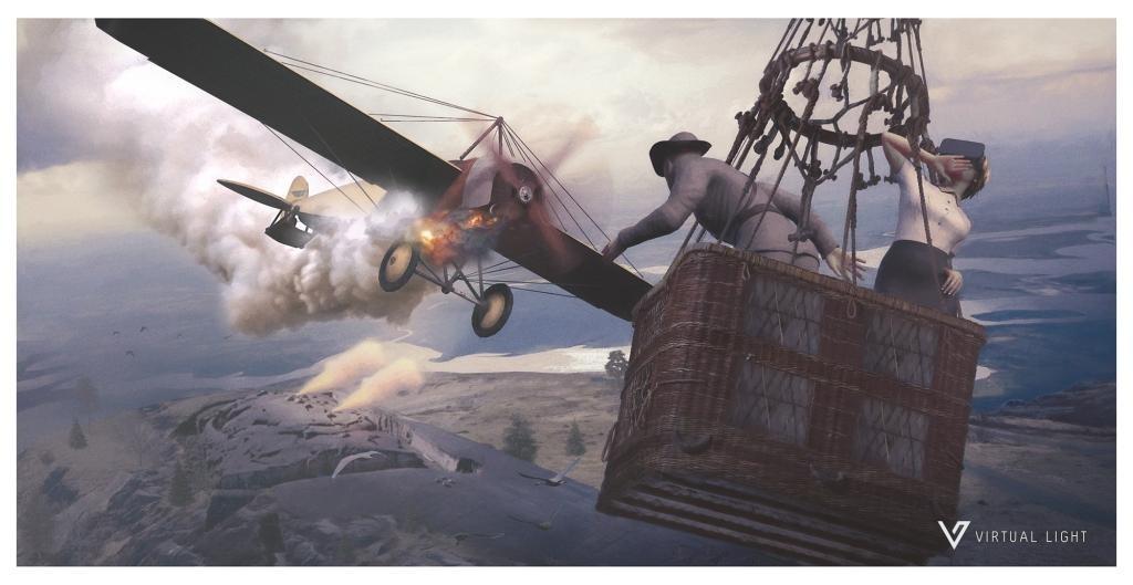 Följ med 400 meter upp i luften för 100 år sedan med VR-teknik