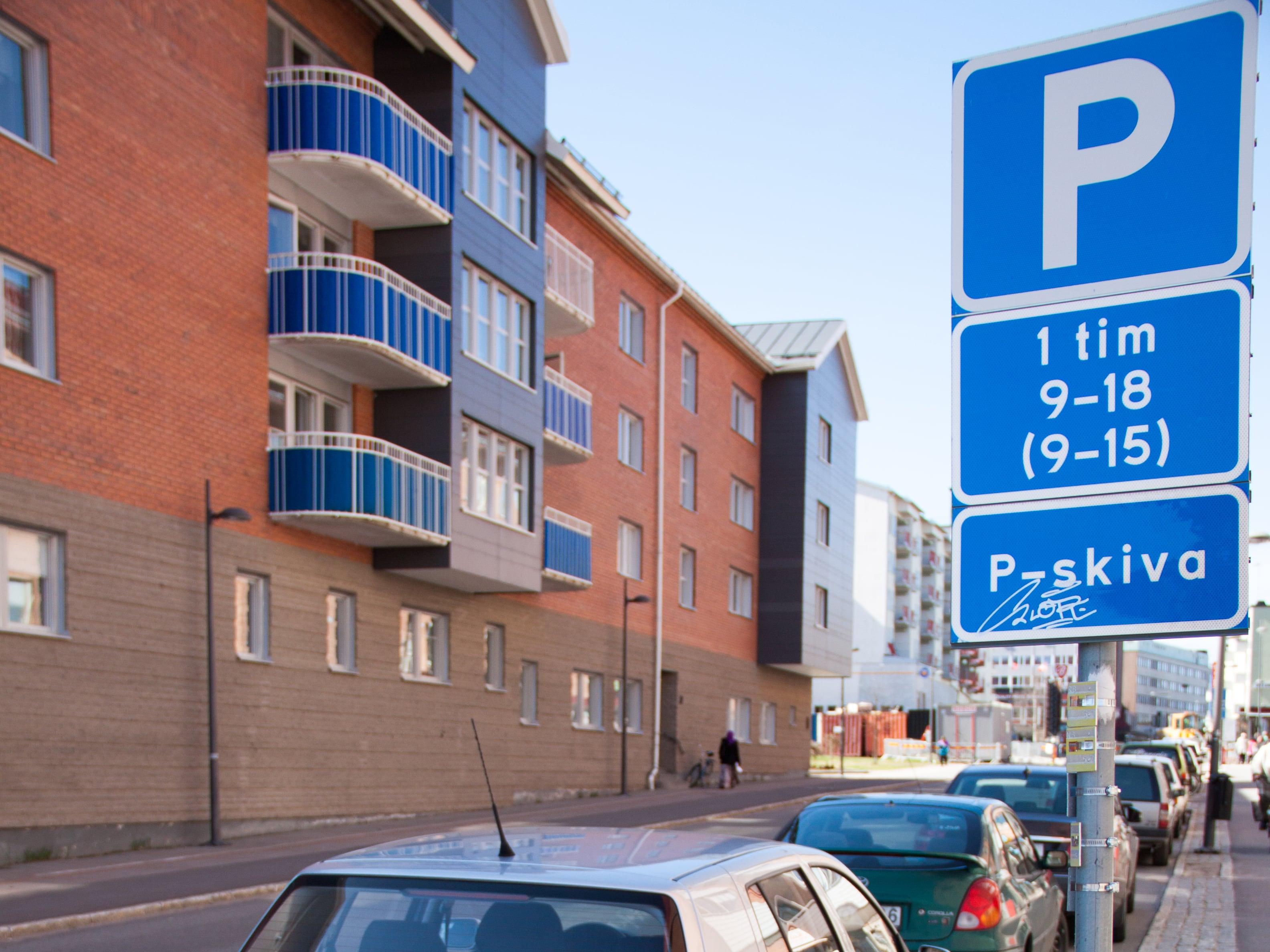 Några ord om parkering i Boden