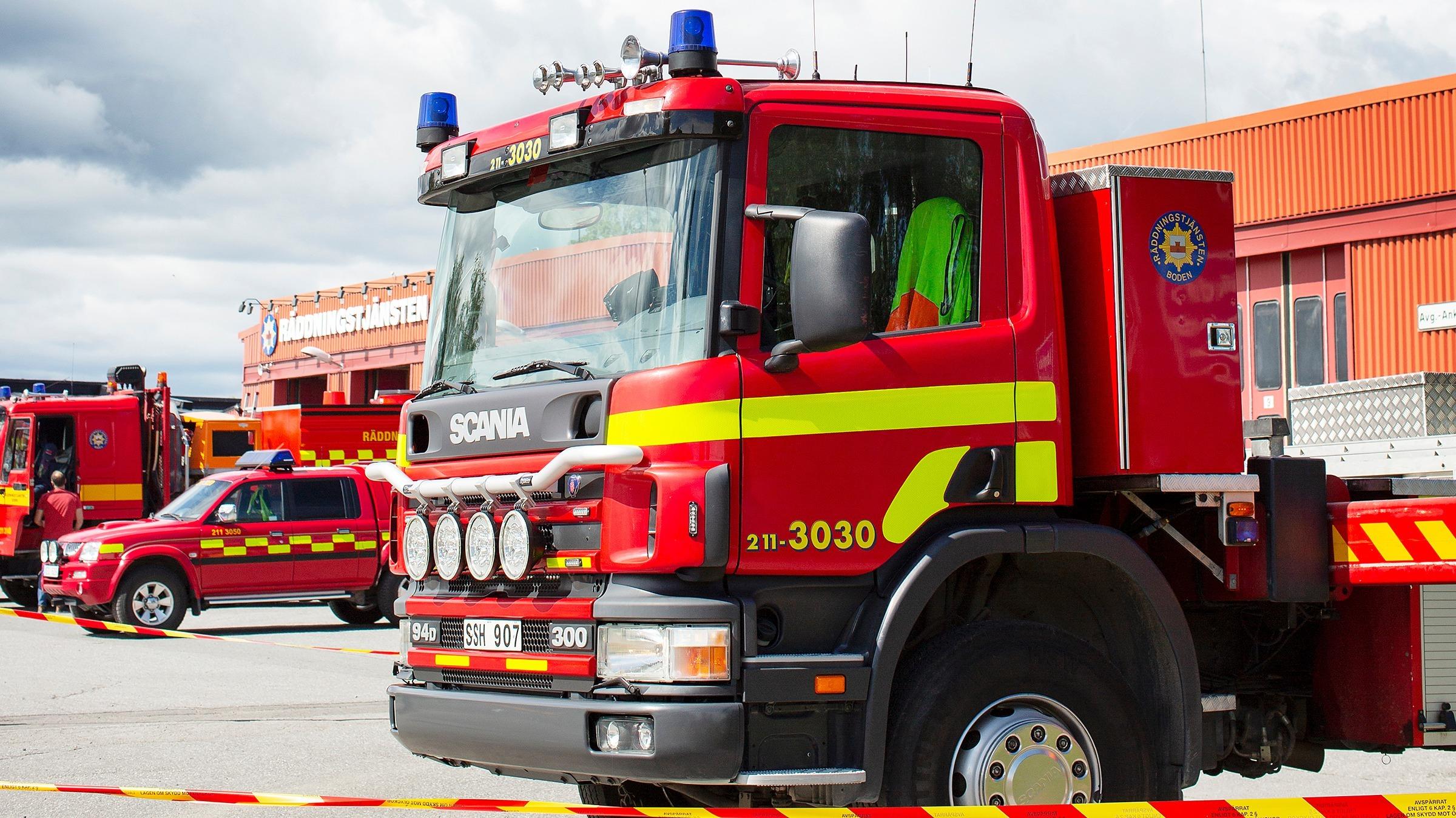 Informationsbesök om brandskydd i kommunens radhus