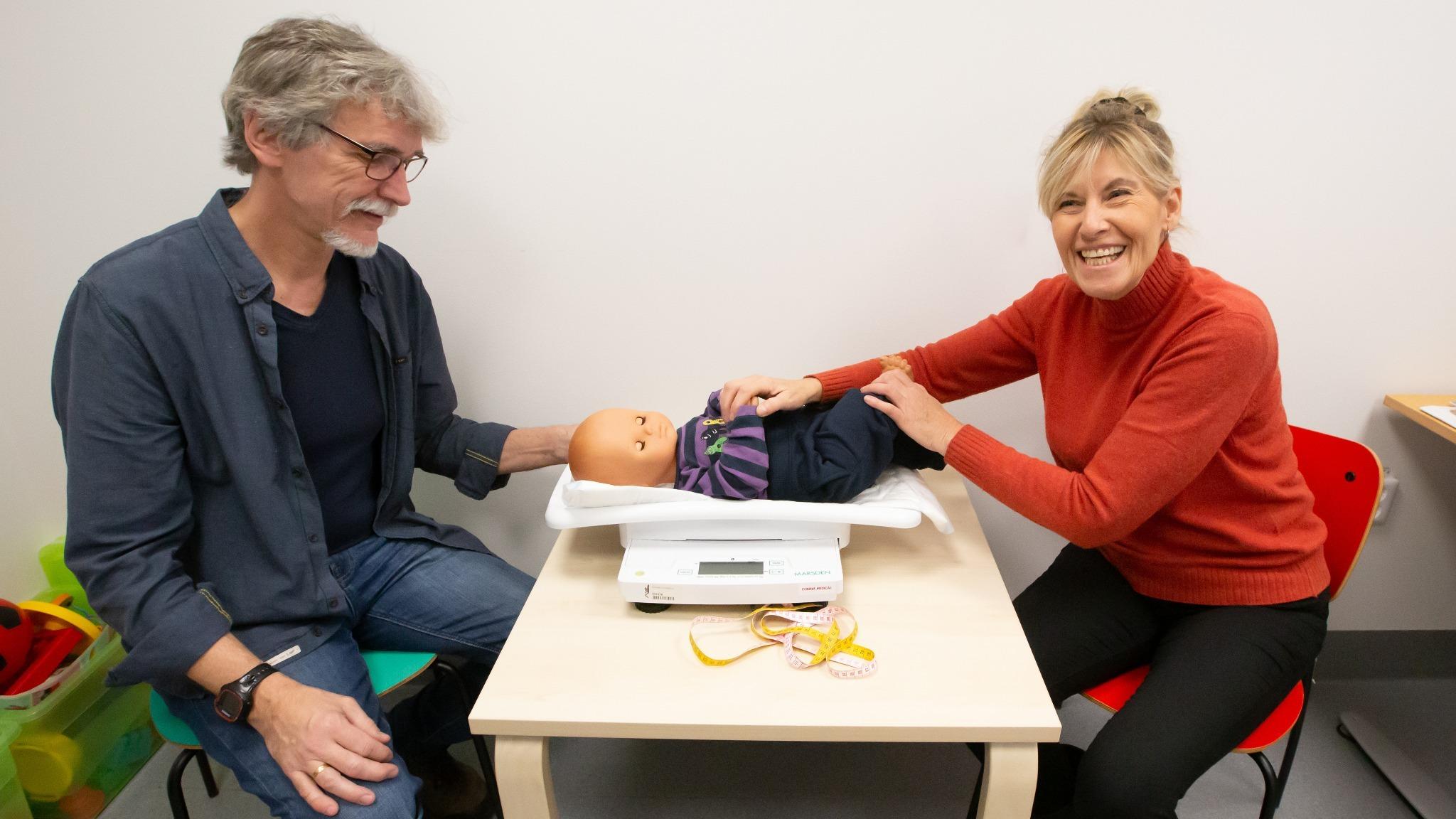 Utökat hembesök för nyfödda