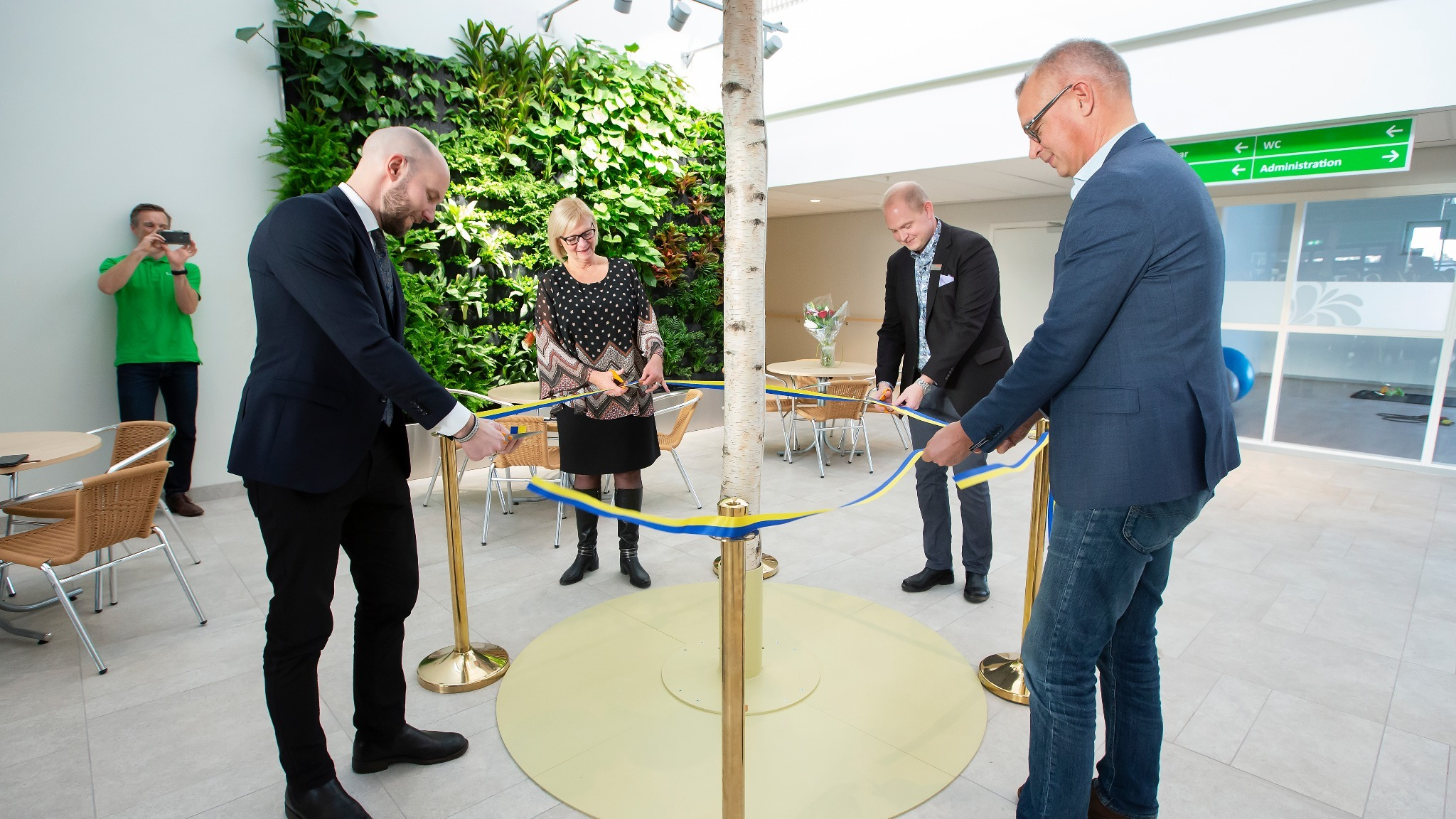 Nu är Bodens nya äldreboende invigt