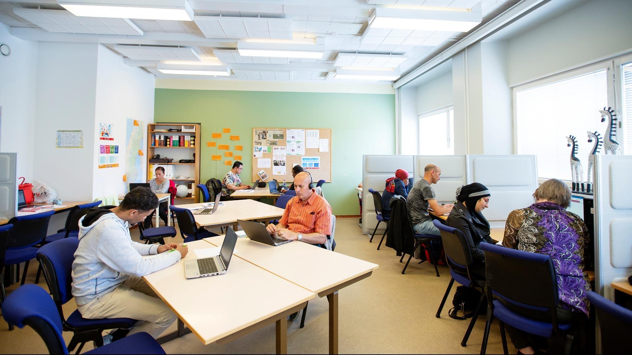 Lärcentrum inför distansstudier