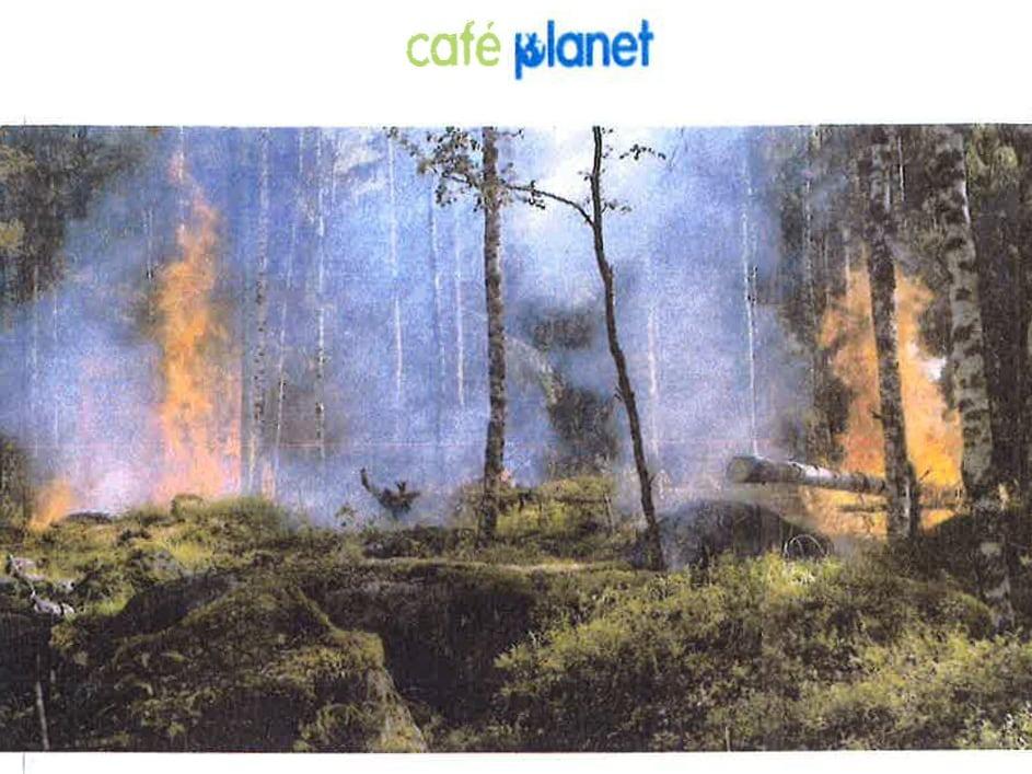 Ett varmare Boden - Café Planet