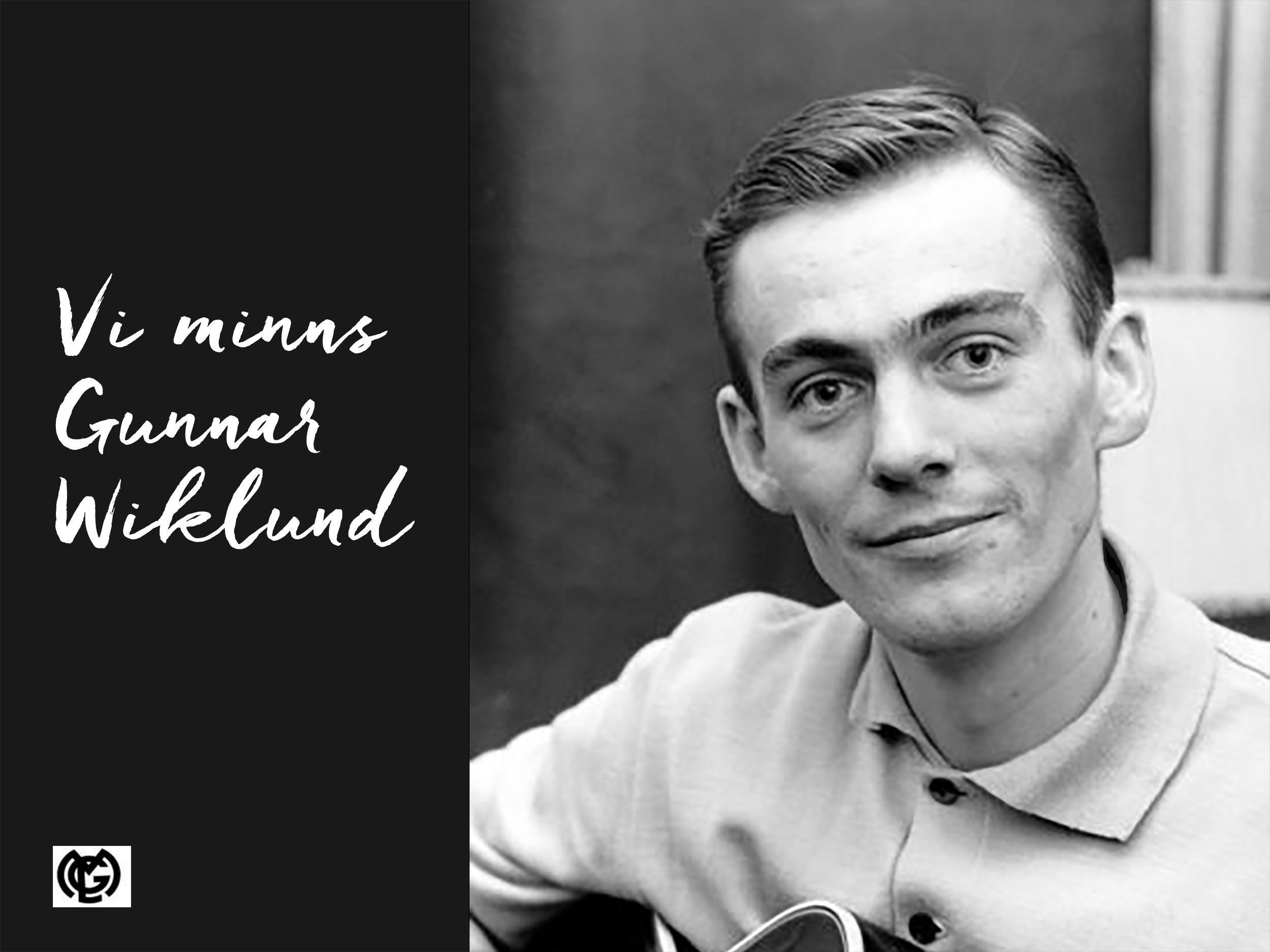 Vi minns Gunnar Wiklund
